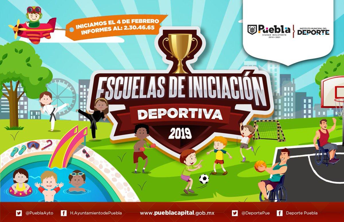26a913d0f Forma parte de las Escuelas de Iniciación Deportiva de Puebla ...